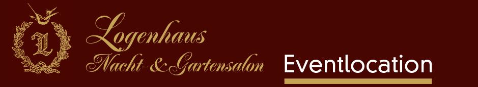 Logenhaus Nacht- & Gartensalon Eventlocation